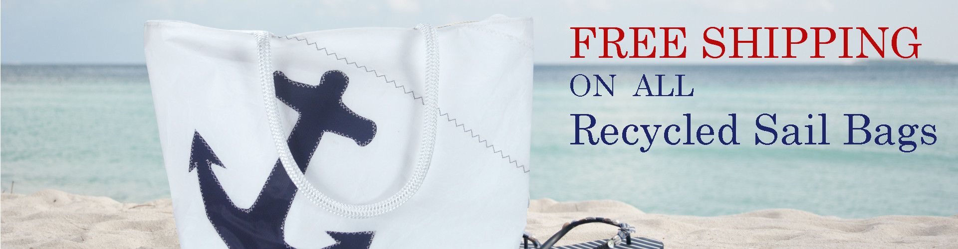 Recycled Sail Bags hand sewn from actual sails into chic bags, Made in USA