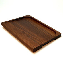 Lobster & Crab Wooden Prep Board, Black Walnut