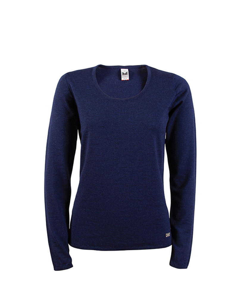 Dale of Norway Astrid Sweater for Women in Navy | The Nordic Shop