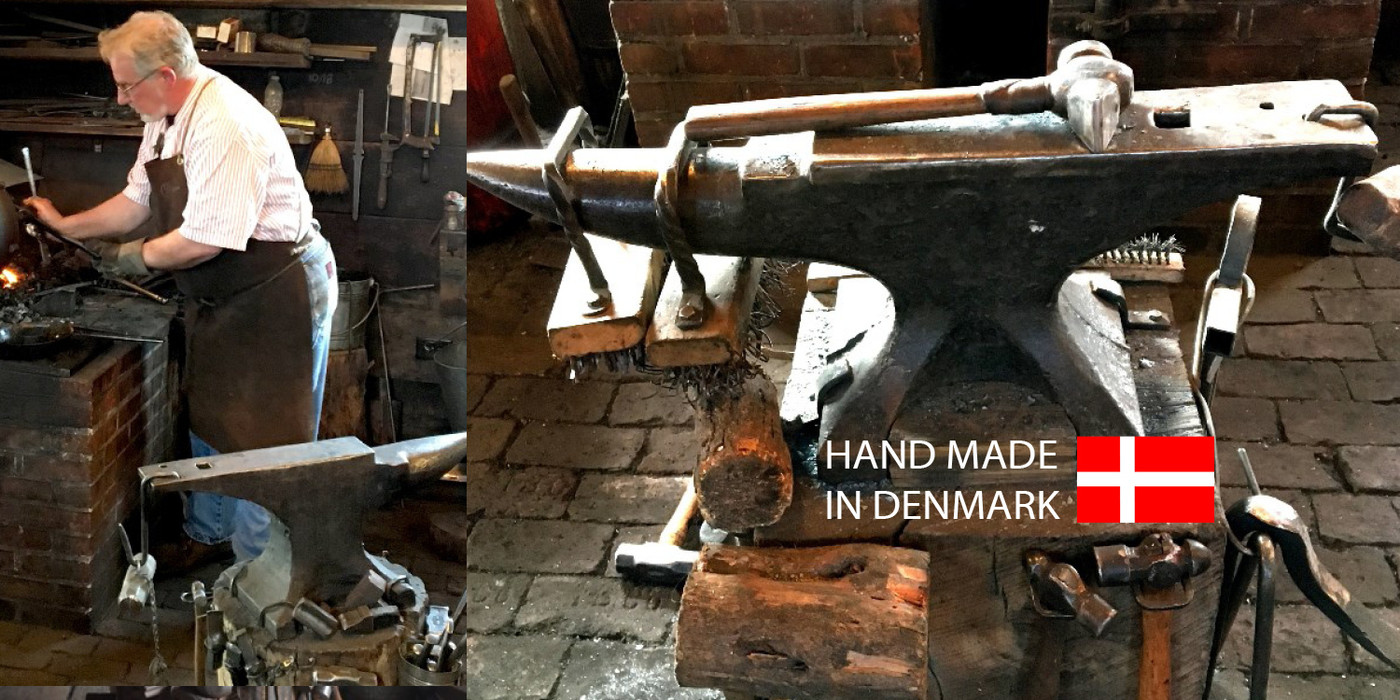 Danish Iron Candle Holders