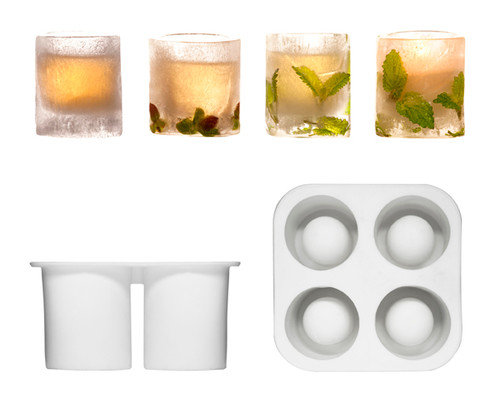 Sagaform - Ice Shot Glass Mold - Set of 4
