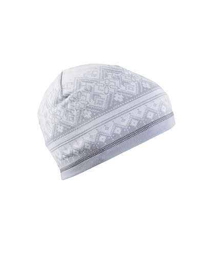 Dale of Norway Rondane Hat - Light Grey/Dark Grey/White Mel, 47951-E