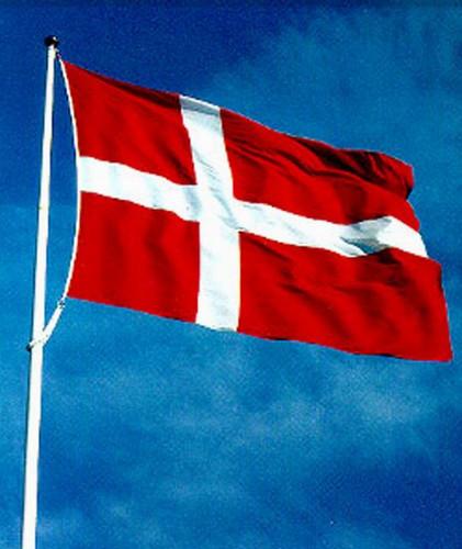 Danish Flag, 2x3