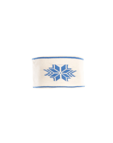 Dale of Norway Geilo Headband, Ladies - Off-White/Cobalt, 25311-A