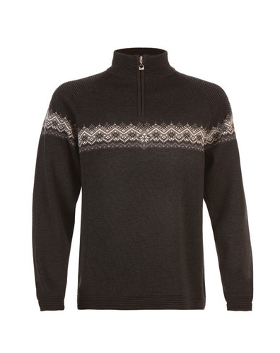 Dale of Norway Calgary Pullover, Mens - Dark Charcoal/Schiefer/Off White, 91791-E