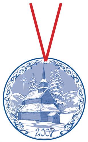 2007 Stav Church Ornament - Kaupanger