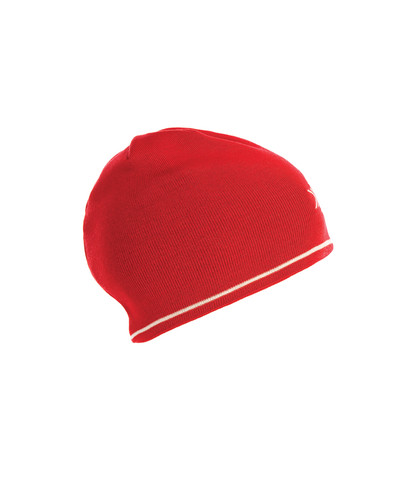 Dale of Norway Geilo Hat - Raspberry/Off-White, 45311-B