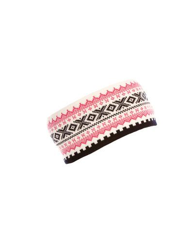 Ladies Dale of Norway Kongsvollen Headband - Off White/Navy/Allium, 25591-A