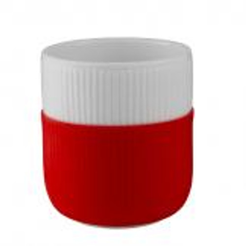 Royal Copenhagen Fluted Contrast Mug - Scarlet Red