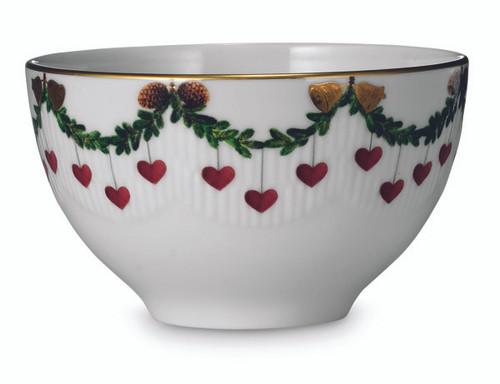 Star Fluted Christmas Chocolate Bowl, 10 oz.