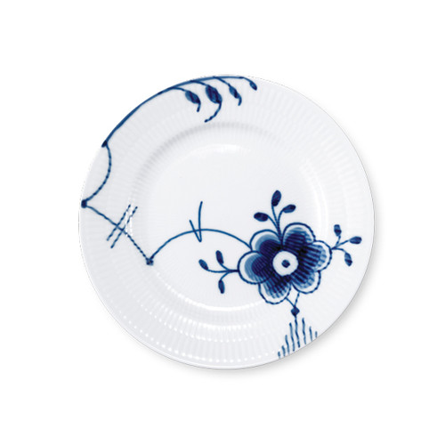 Blue Fluted Mega - Bread & Butter Plate, No. 6, 6.75""