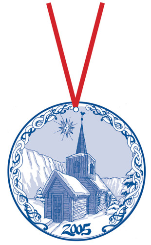 2005 Stav Church Ornament - Undredal