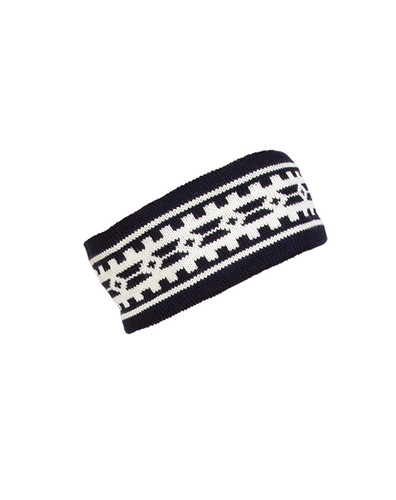 Dale of Norway Alpina Headband - Navy/Cream, 25531-C