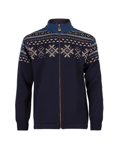 Dale of Norway Dovre Cardigan - Navy, 80351-H