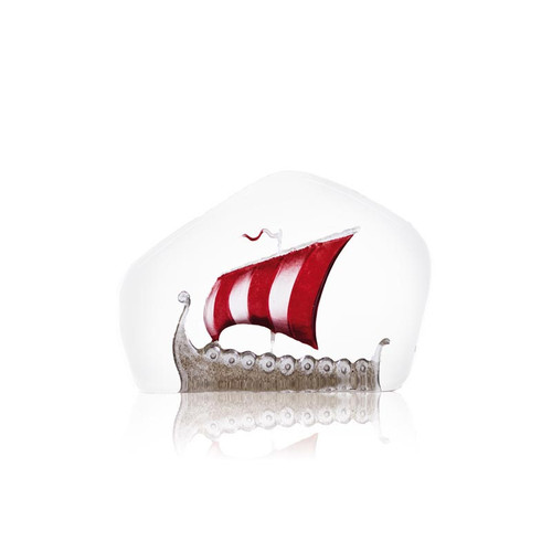 Viking Ship - Medium - Red