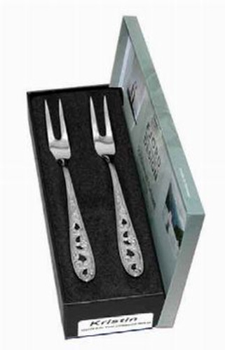 Kristin 2-Piece Pickle Fork Set