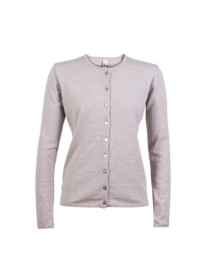 Dale of Norway Marit Cardigan, Ladies - Beige Mel, 82392-P