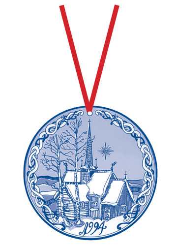1994 Stav Church Ornament - Lillehammer