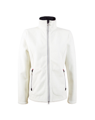 Ladies Dale of Norway Hafjell Knitshell Jacket in Off White, 82871-A