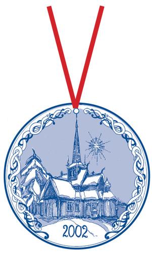 2002 Stav Church Ornament - Lom