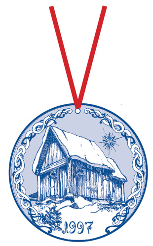 1997 Stav Church Ornament - Trondheim