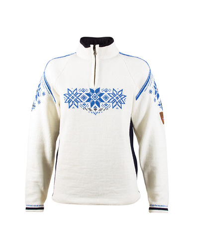 Dale of Norway Holmenkollen Pullover, Ladies - Off-White/Navy, 91551-H