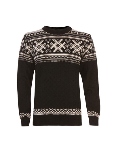 Mens Dale of Norway Haukeli Pullover - Black, 92211-F