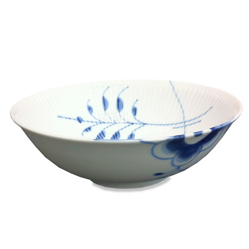 Blue Fluted Mega - Cereal Bowl, 6.25""