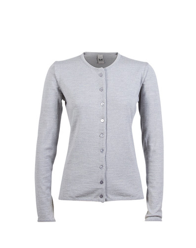 Dale of Norway Marit Cardigan, Ladies - Light Grey Mel, 82392-E