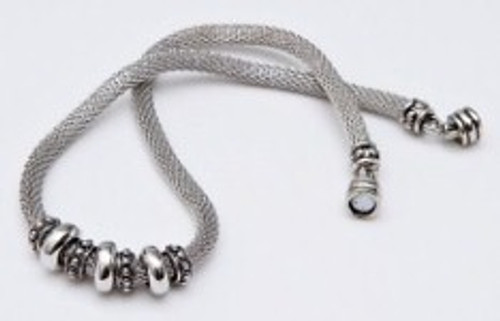Danish Silversmiths Silver Bead Necklace