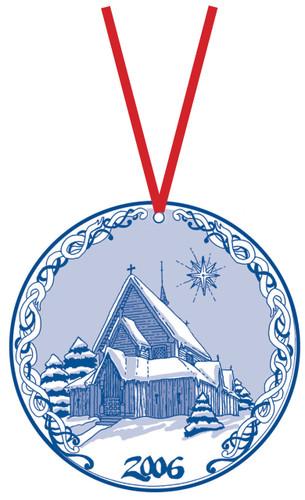 2006 Stav Church Ornament - Reinli