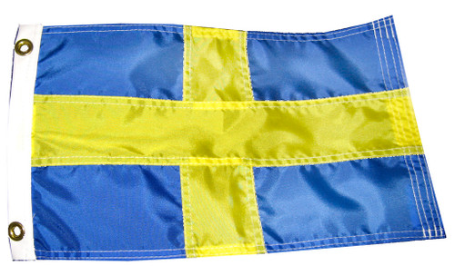 Swedish Boat Flag