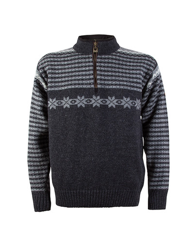 Dale of Norway Fisketorget Pullover - Dark Charcoal, 92671-E