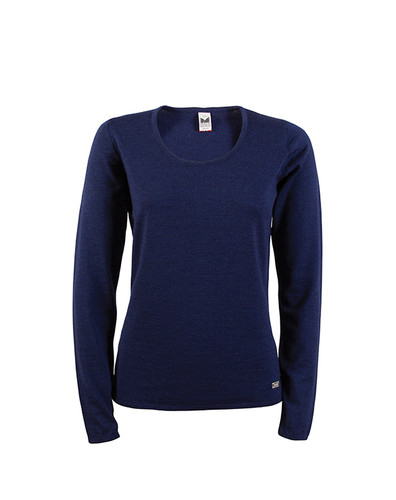 Dale of Norway Astrid Sweater, Ladies - Navy Mel, 92432-C