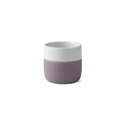 Royal Copenhagen Fluted Contrast Espresso Mug - Heather