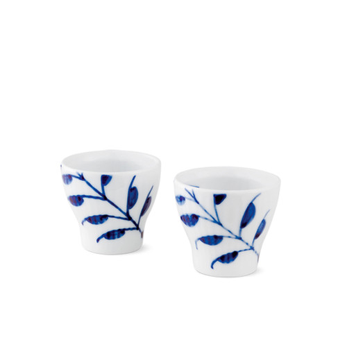 Blue Fluted Mega - Egg Cup, 2-Pack