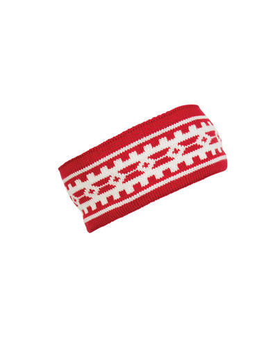Dale of Norway Alpina Headband - Raspberry/Off-White, 25531-B