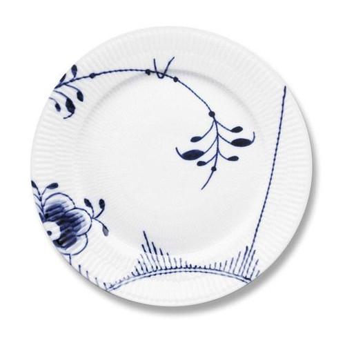 """Blue Fluted Mega - Dinner Plate, No. 2, 10.75"""""""