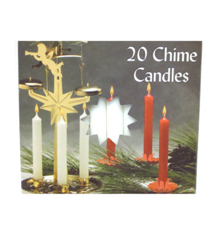 Angel Chime Candles - White