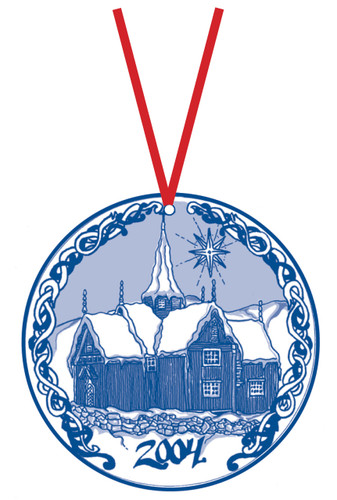 2004 Stav Church Ornament - Nore
