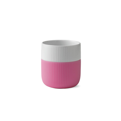 Royal Copenhagen Fluted Contrast Mug - Bubblegum