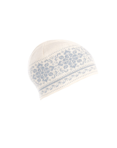 Ladies Dale of Norway Peace Hat - Off White/Glacier, 42391-A