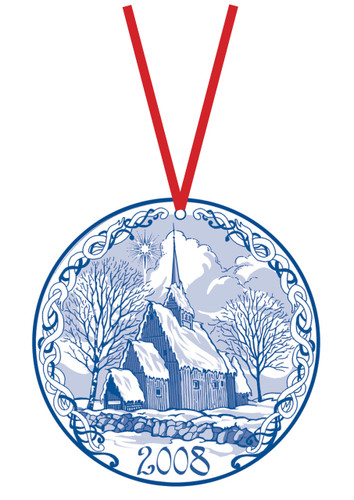 2008 Stav Church Ornament -Hoyjord