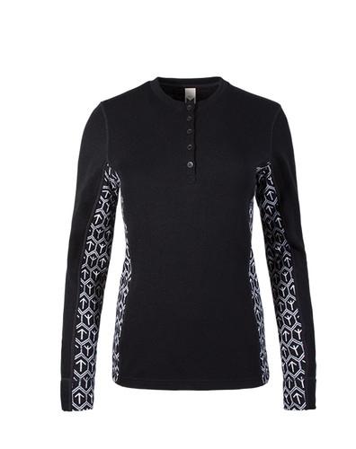 Dale of Norway Viking Basic Shirting, Ladies - Black/White, 93501-F