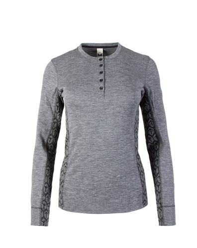 Dale of Norway Viking Basic Shirting, Ladies - Smoke/Black, 93501-E