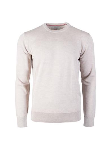 Dale of Norway Magnus Sweater, Mens - Beige Melange, 92402-P