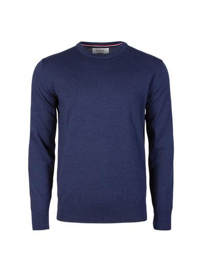 Dale of Norway Magnus Sweater, Mens - Navy Melange, 92402-C