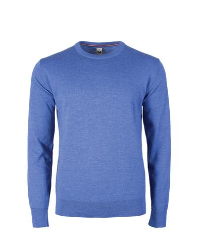 Dale of Norway Magnus Sweater, Mens - Medium Blue Melange, 92402-H