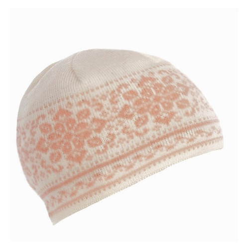 Ladies Dale of Norway Peace Hat - Off White/Carnation, 42391-I