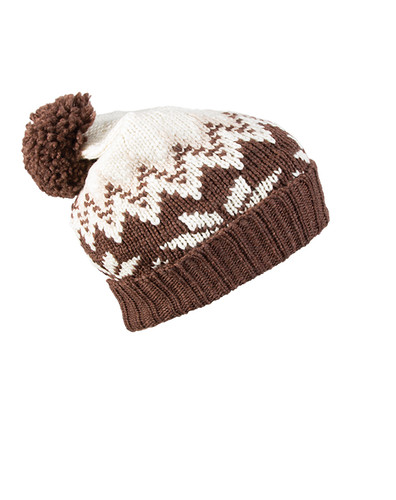 Dale of Norway Myking hat  - Firewood/Off White/Sand, 48001-R